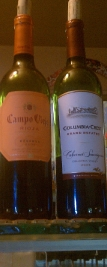 More wines to choose from at Clarence Center Cafe